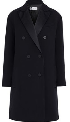 Lanvin Double-breasted Wool-blend Twill Coat