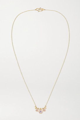 Alice Cicolini Bubble Kimono 14-karat Gold Multi-stone Necklace - one size