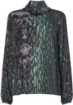 Twist And Tango Carrie Leopard Print Blouse