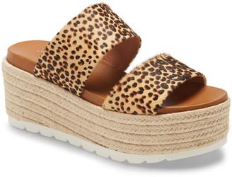 J/Slides Quinzel Platform Slide Sandal