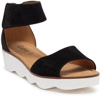 Gabor Leather Ankle Strap Sandal