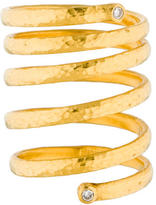 Gurhan 24K Delicate Spring Ring