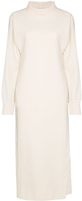 Samuel Guì Yang May high neck shift dress