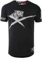 Philipp Plein jersey-jacquard T-shirt
