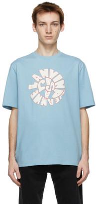 Lanvin Blue Logo T-Shirt