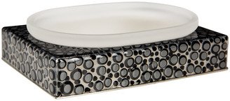 Mike and Ally Mike + Ally - Proseco Soap Dish - Black/Silver