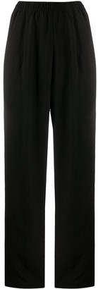 Forte Forte Elasticated-Waist Straight Trousers