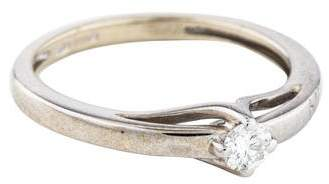 Damiani Bliss by 18K Diamond Solitaire Engagement Ring