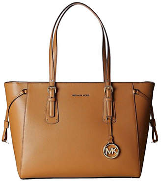 Michael Kors Women's Totebags Acorn - Acorn Voyager Leather Tote
