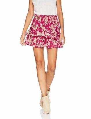 Ramy Brook Women's Bonnie Floral Mini Skirt