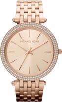 Michael Kors Watch Rnd Crystal Dial Watch