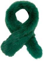 Adrienne Landau Green Fur Stole