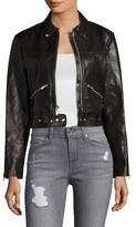 Veda Monk Leather Motorcycle Jacket