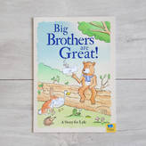 My 1st Years Personalised 'Big Brothers' Book