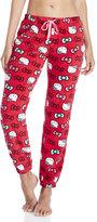 Hello Kitty Pretty In Plush Pajama Pants