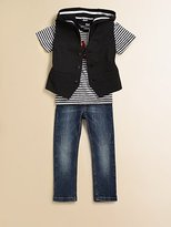Dolce & Gabbana Toddler's & Little Boy's Distressed Straight Jeans