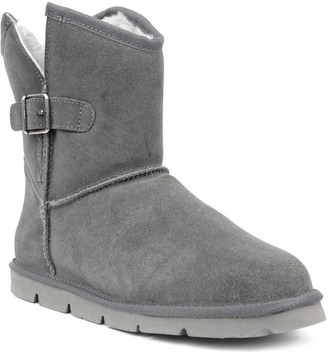 Superlamb Argali Buckle Women's Leather Sherpa Winter Boots
