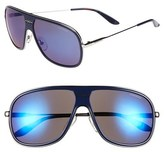 Carrera Men's Eyewear 62Mm Aviator Sunglasses - Blue