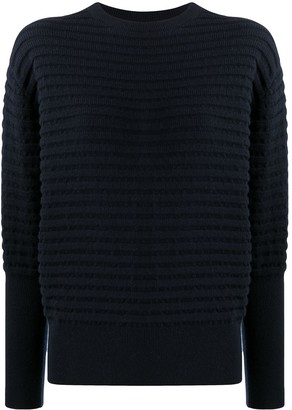 Colombo Texture Rib-Trimmed Cashmere Jumper