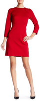 Joe Fresh Long Sleeve Ponte Sheath Dress