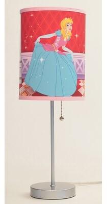"Zoomie Kids Blond Princess 20"" Table Lamp"