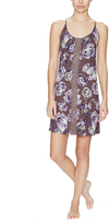 Midnight by Carole Hochman Painterly Floral Chemise