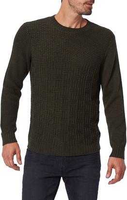 Paige Men's Brock Textured Cotton-Blend Sweater