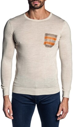 Jared Lang Crew Neck Pullover Sweater