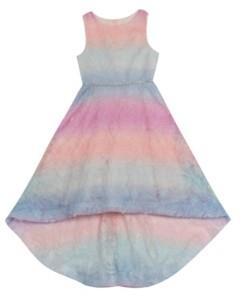 Rare Editions Big Girls Soutache Dress