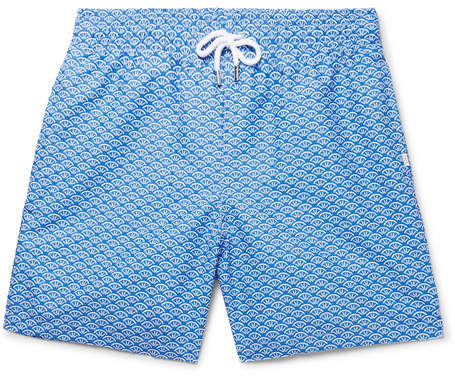Derek Rose Tropez Mid-Length Printed Swim Shorts