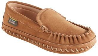 L.L. Bean Women's Wicked Good Deerskin-Lined Slippers. Original Venetian