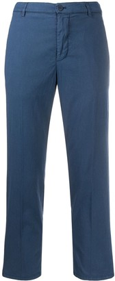 Dondup Cropped Straight Leg Trousers