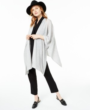 Charter Club Solid Cashmere Wrap, Created for Macy's