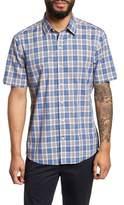 Zachary Prell Carter Plaid Sport Shirt