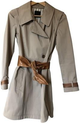 Pinko Beige Cotton Coat for Women