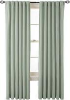 Martha Stewart MarthaWindowTM Fairmount Basketweave Rod-Pocket/Back-Tab Cotton Curtain Panel