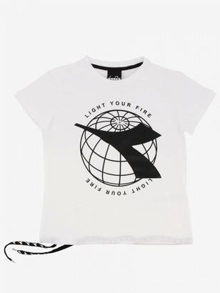 Diadora T-shirt With Logo Print
