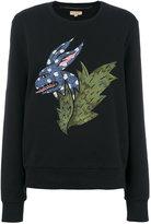 Burberry Beasts Motif cotton sweatshirt