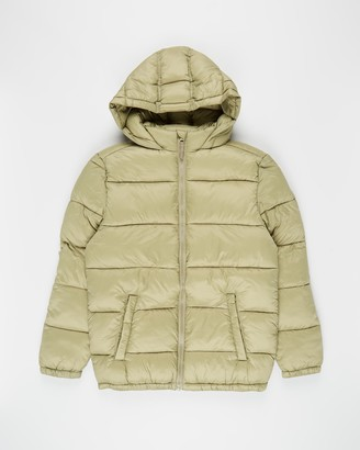 Cotton On Charlie Puffer Jacket - Teens