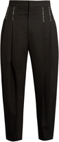 Haider Ackermann Orbai dropped-crotch wool trousers