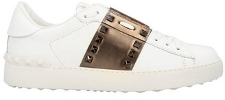Valentino leather trainers