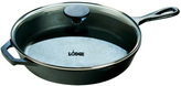 Lodge Logic Cast-Iron Skillet with Glass Lid