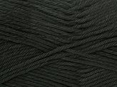 Stylecraft Classique Cotton Knitting Yarn DK 3093 Black - per 100 gram ball