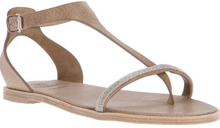 Brunello Cucinelli open toe sandal