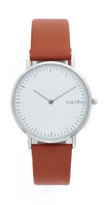 RumbaTime SoHo Leather Hazlenut Watch