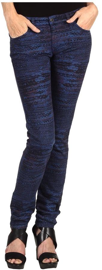 See by Chloe Cropped Skinny Leg Pant (Indigo) - Apparel