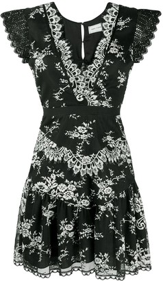 Three floor Lace Parade dress