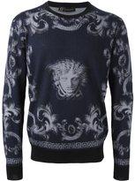 Versace 'Lenticular Foulard' jumper