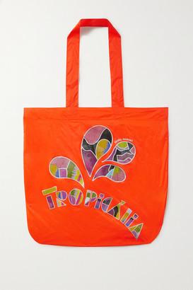 Isabel Marant Woom Printed Shell Tote - Orange