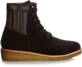 A.P.C. Sia suede lace-up ankle boots